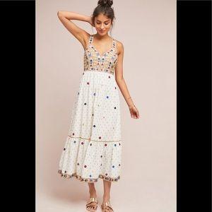 Anthropologie Payal Pratap Norah Midi Dress 4